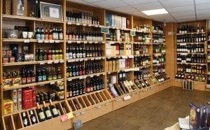 Mitchells-main-alcohol-display-area