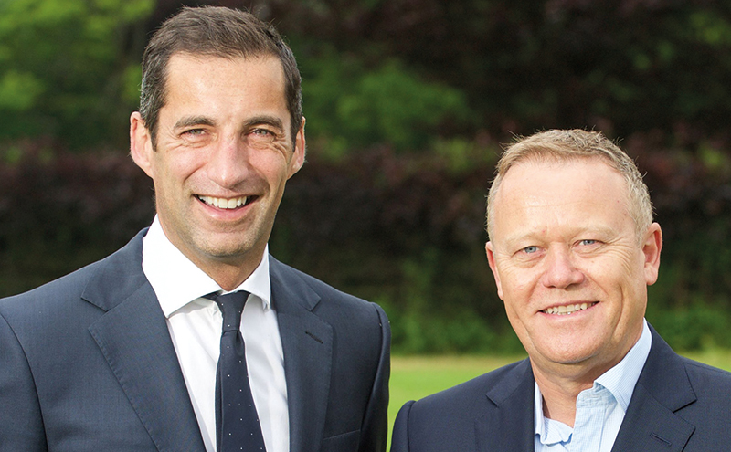 Robert Graham, managing director and Joe Flynn, international business manager, of Graham's The Family Dairy.  Photo by Rob McDougall Pic: Rob McDougall info@robmcdougall.com 07856 222 103 www.RobMcDougall.com Copyright 2016 Licensed for commissioning client only.