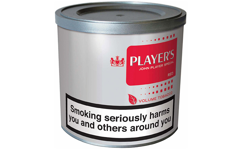 Player's Red Volume Tobacco, launched last year and said to offer significant value thanks to volume-boosting technology and a new blend.