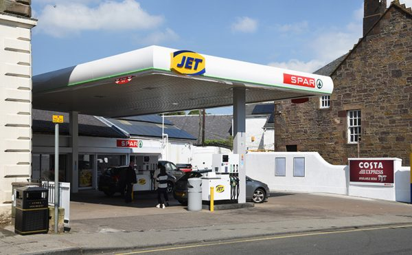 Jet and Spar head up forecourt event