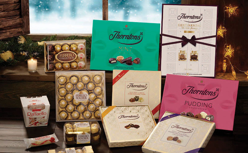 Following its acquisition of Thorntons, Ferrero is promoting boxed chocolates this year.