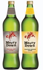 2554 merrydown vintage bottles