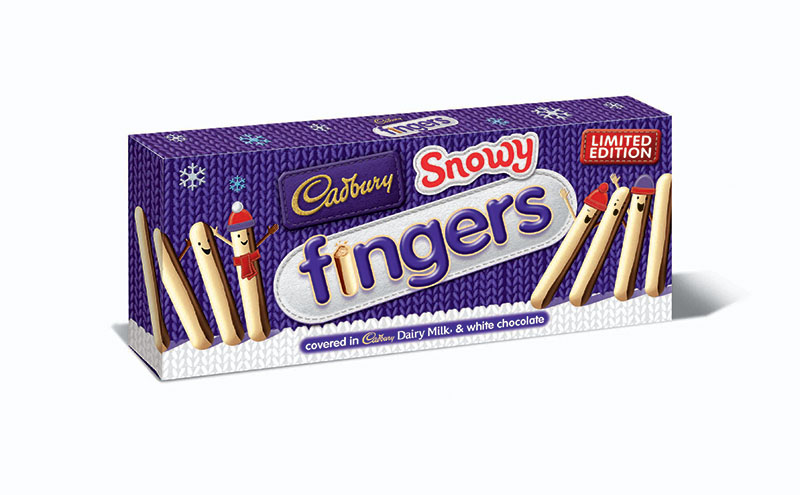 Snowy Fingers is one of a range of new products Burton's has introduced for this year's festive period.