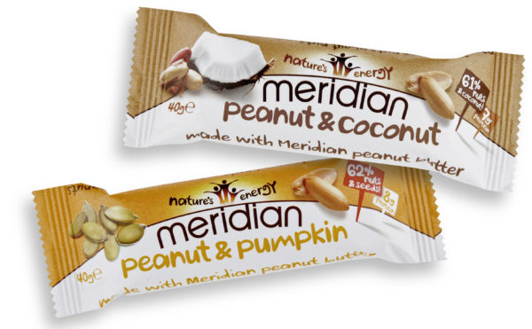 Pair of nut bars land in stores