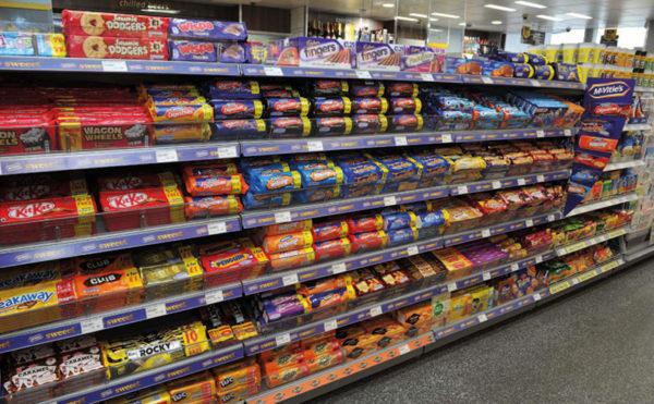 Brits eat the most treats