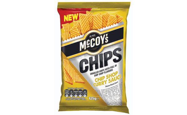 Curry on the chips please