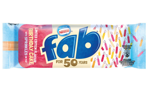 Celebrating 50 years of ice lolly