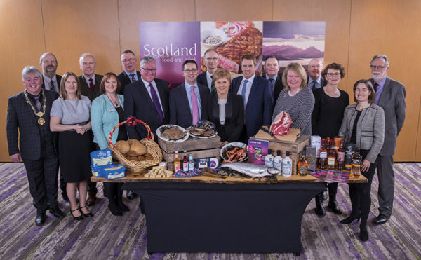 Scottish Food & Drink Partnership unveils new vision for country