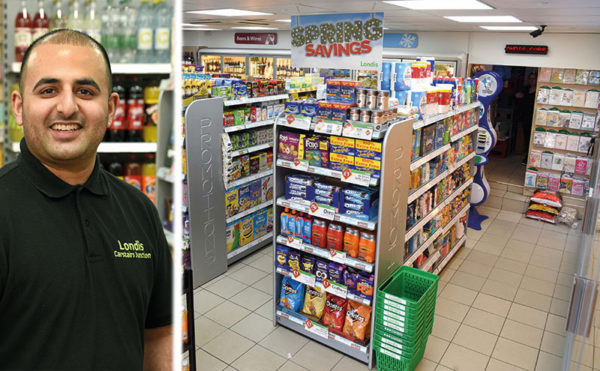 New directions: Harry Singh, Londis of Carstairs Junction