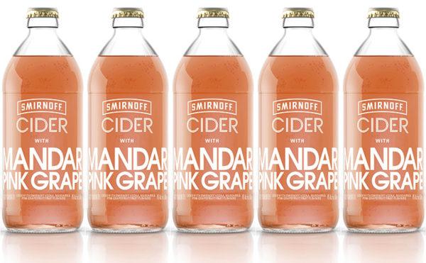Smirnoff cider's mandarin