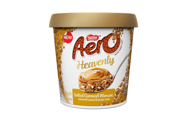 Aero floats into chilled desserts