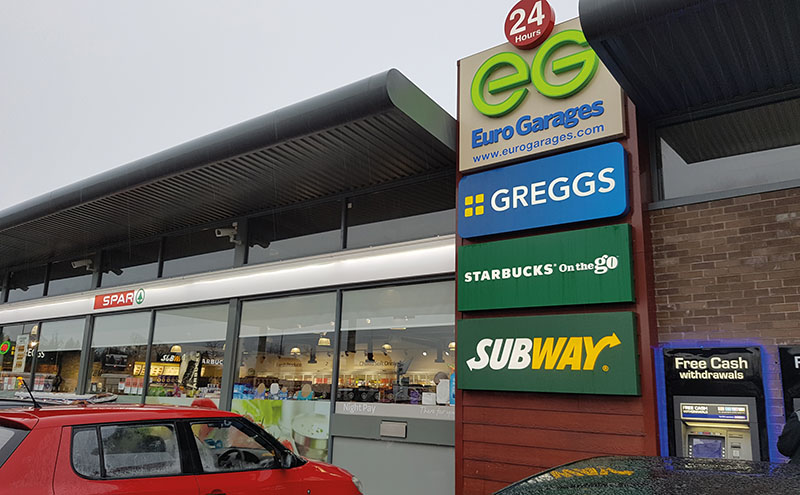 Instant Garage Euro : A game changer for forecourts scottish grocer