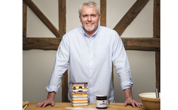 Bake Off star backs new Homepride flour