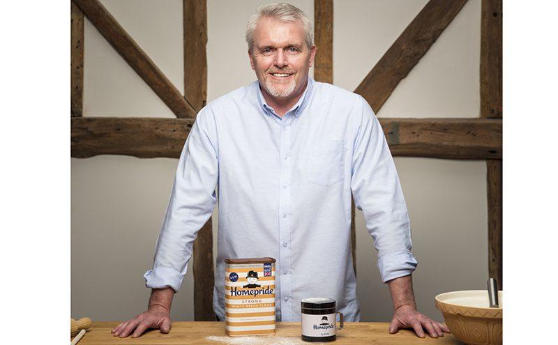bake off star backs new homepride flour scottish grocer convenience retailer. Black Bedroom Furniture Sets. Home Design Ideas