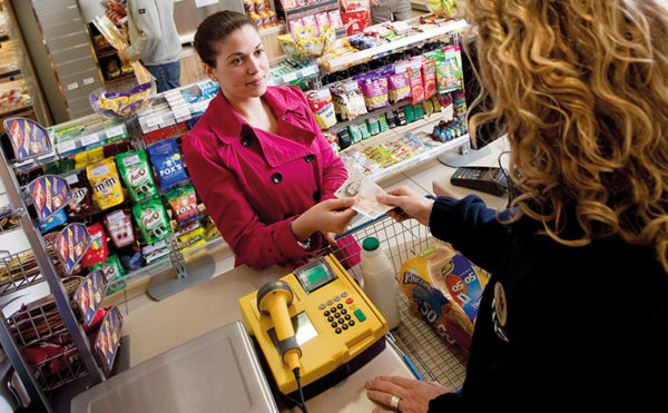 New charge for old PayPoint terminal