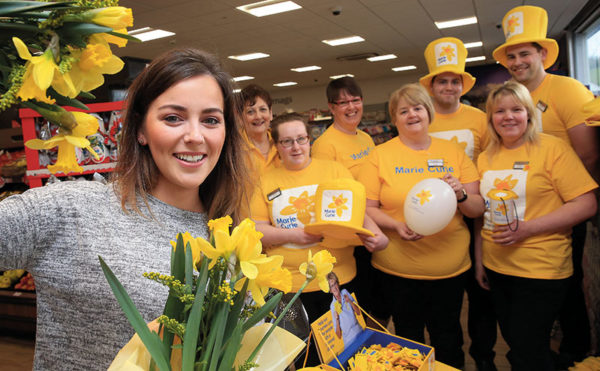 Spar blooms for charity