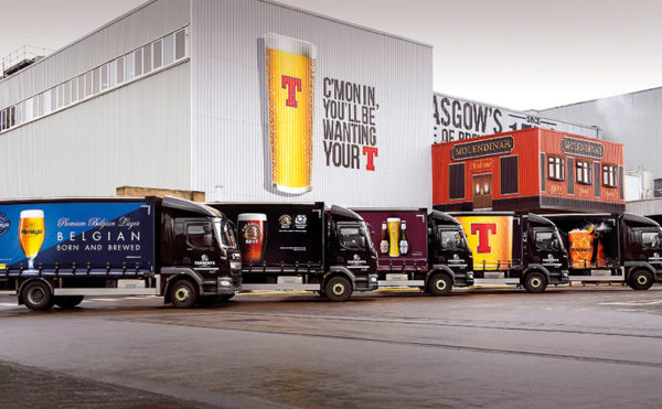 Tennent's invests in low emission trucks