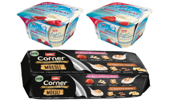 Müller introduces lactose-free and quark yogurts in the UK