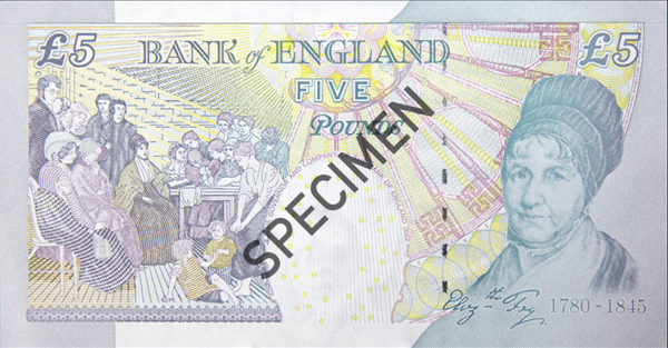 BoE paper fivers finished