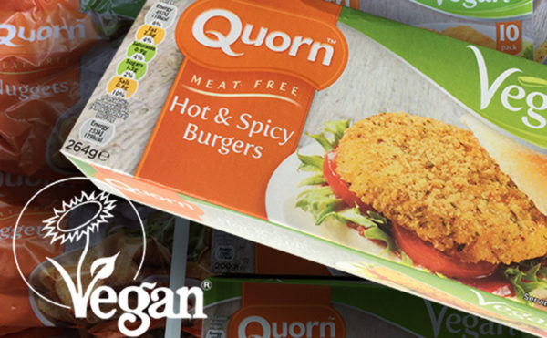 Vegan seal of approval for Quorn