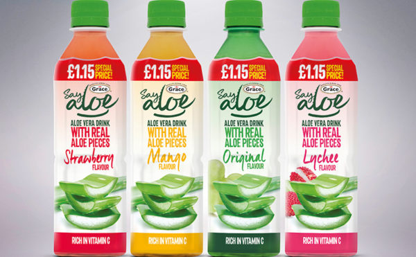 Say 'aloe' to new packaging