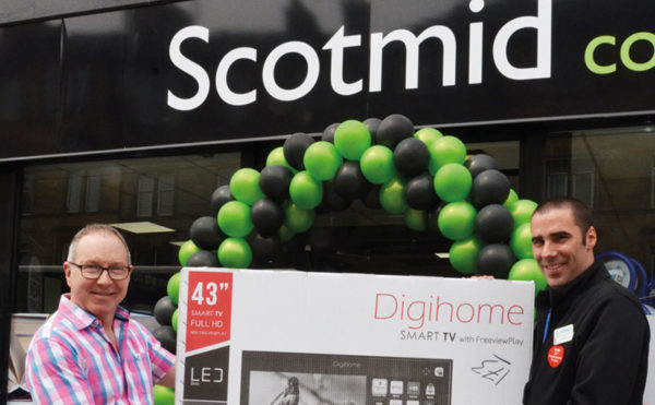 Shoppers strike gold at Scotmid
