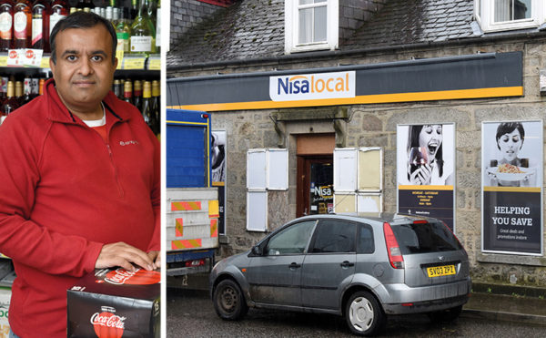 Salmond's store at risk over 'stupid' rates hike