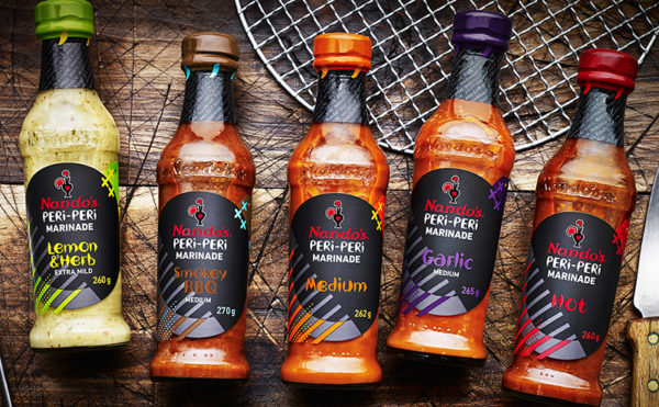 New look for Nando's sauces