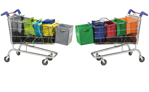 Easier bag-packing at the checkout