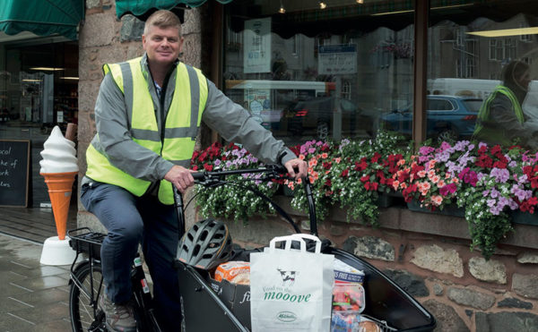 Feeling the buzz for bicycle deliveries