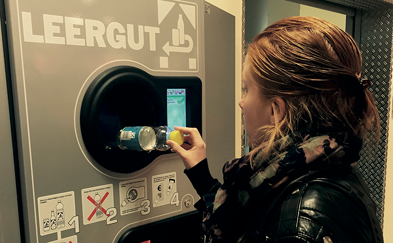 Deposit return schemes utilising reverse vending machines are already in use in a number of European countries.