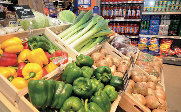 Scots bottom for buying veg