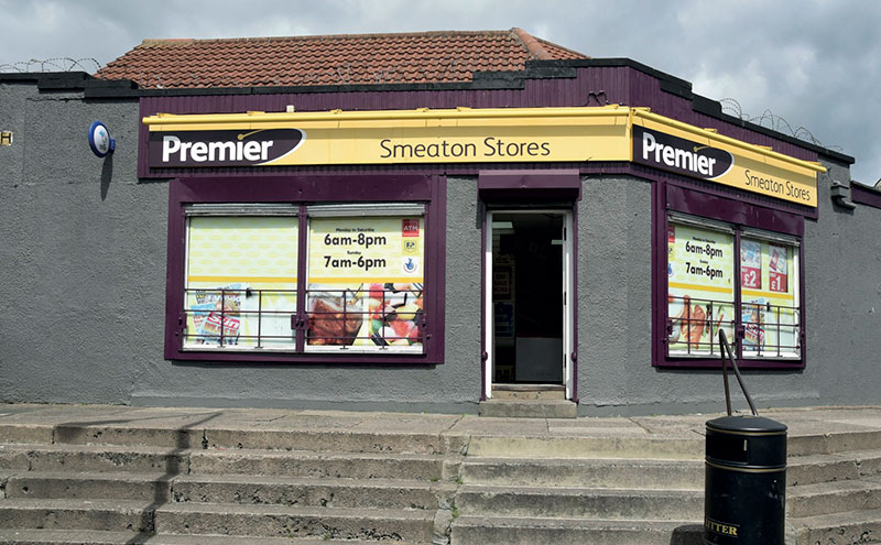 Located in an area that was once described as one of the top five most deprived areas in Scotland, Smeaton Stores has been a force for good, helping with community regeneration.