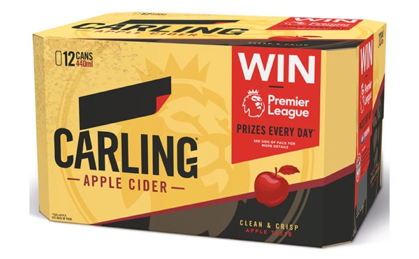 Score swag with Carling