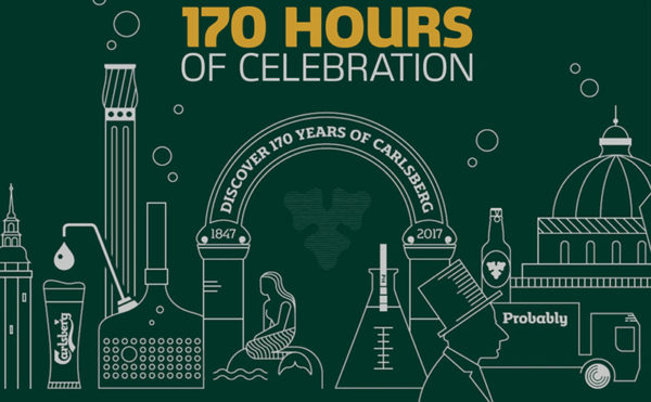 A big birthday for Carlsberg