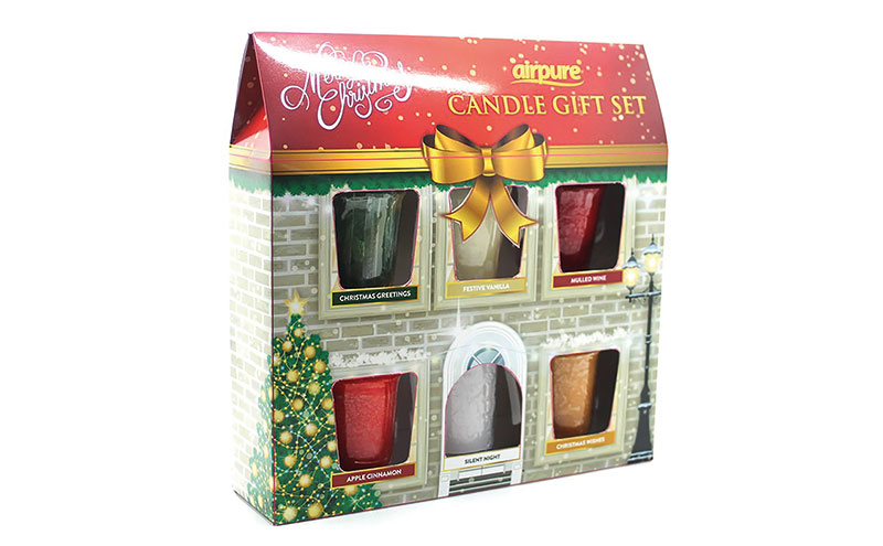 Airpure advent candle house