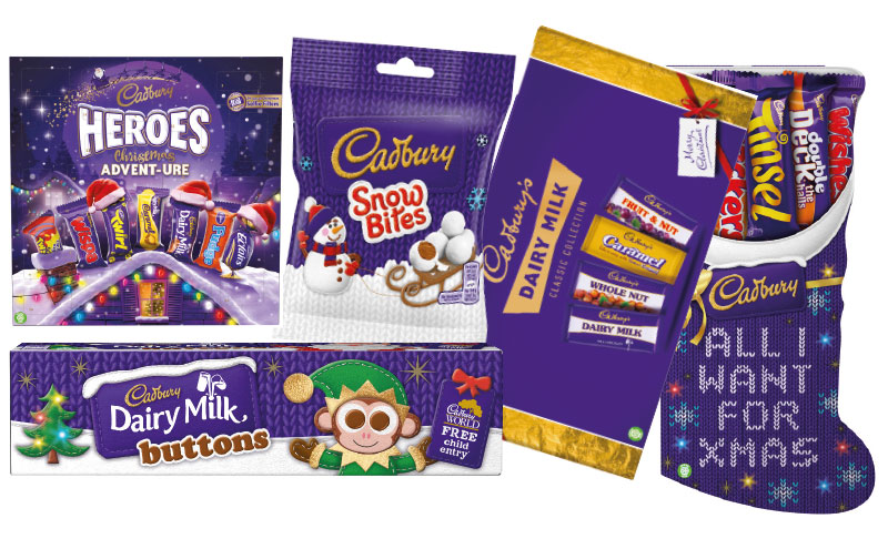 Mondelez Has Unveiled A Raft Of New Products And Old Favourites For Christmas 2017