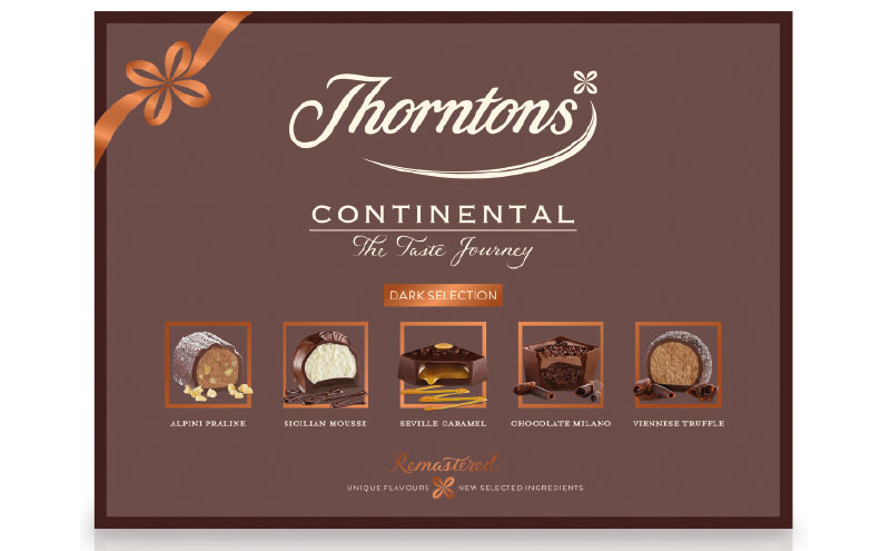 Thorntons Continental Dark is new for 2017.