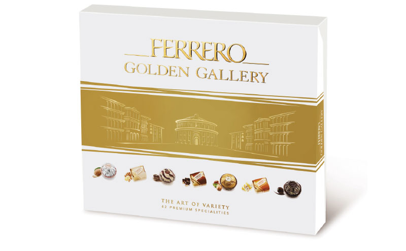 Ferrero Golden Gallery will feature two new flavours for Christmas.