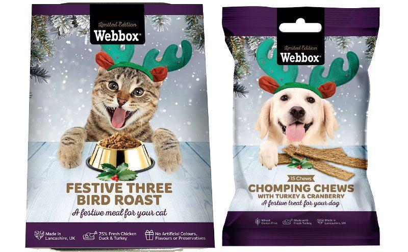 Webbox Christmas pet food