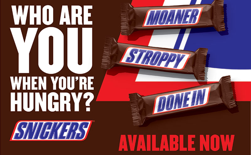 Snickers, Who-are-you-when-you're-hungry