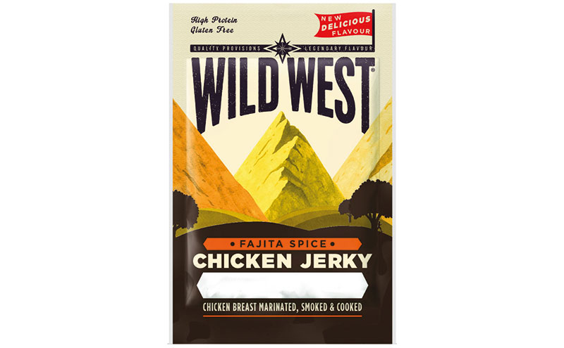 Wild West Chicken and Salmon Jerky and Beef Biltong