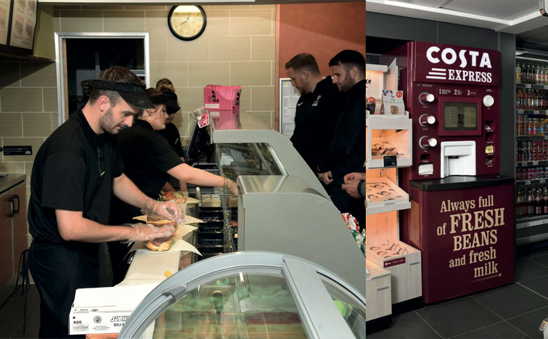 Mahmood Saleem has made some major changes at his Ardeer Services forecourt over the last 18 months, creating a convenience offer that includes a Subway franchise, Costa coffee and Cuisine de France bakery.