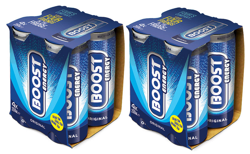 Boost Energy 4 packs