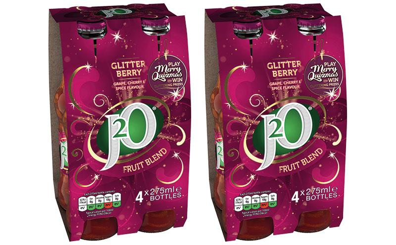 J2O Glitterberry 4 packs