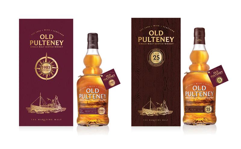 Old Pulteney bottles