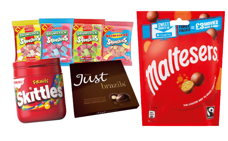 Confectionary share bags