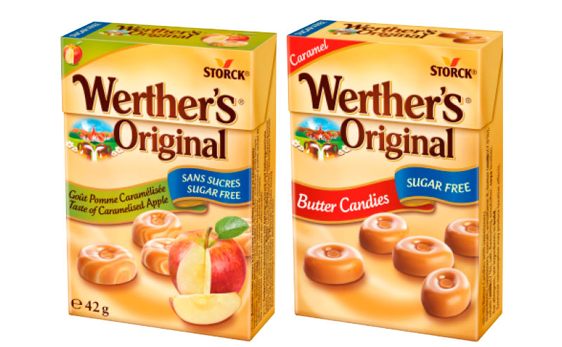 Werther's original packs