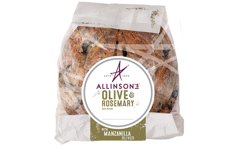 Allinsons olive rosemary