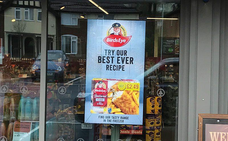 Hi Street Digital Media supplies advertising screens to retailers across the UK.